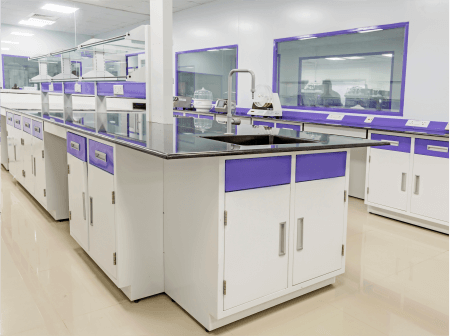 product page - lab furniture